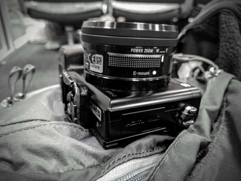 hiking photography kit