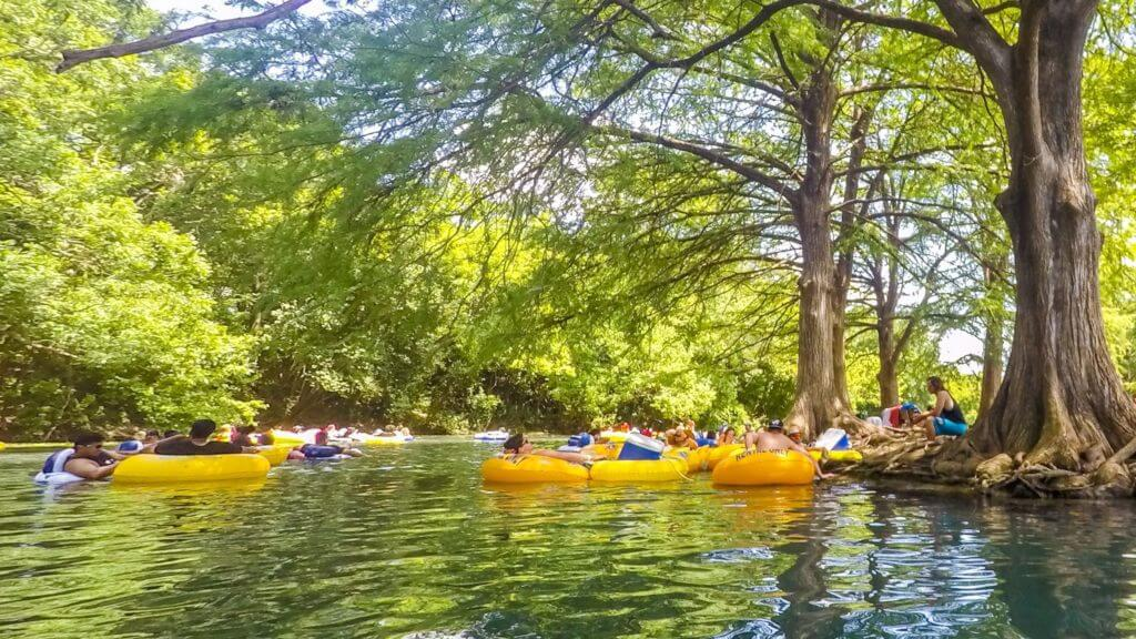 Let's Tube the San Marcos River!