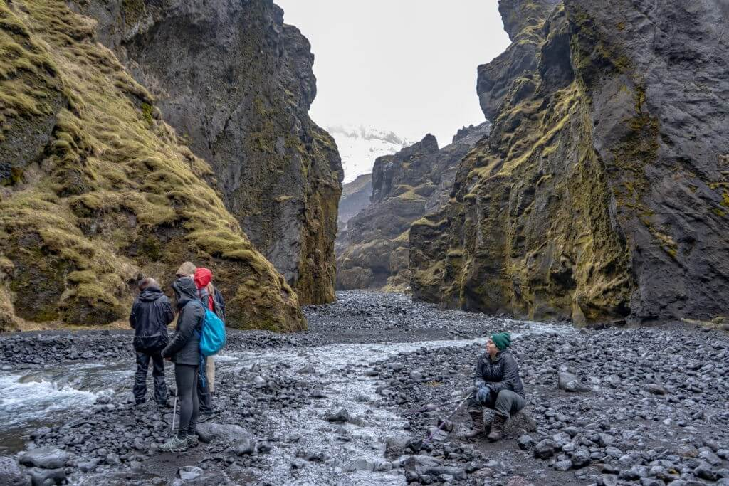 raincoats in Iceland in April