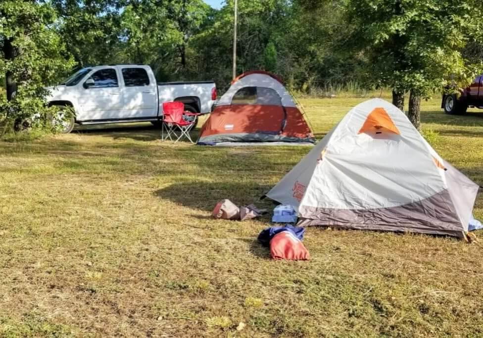 photo of car camping